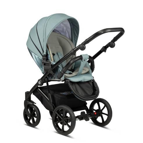 Otroški voziček Tutis Viva life Luxury Turquoise 063-06