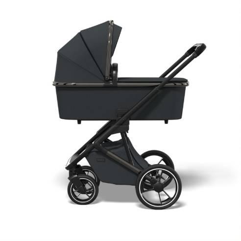 Otroški voziček Moon Style Black chrome 01