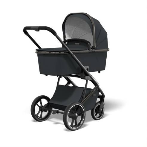 Otroški voziček Moon Style Black chrome 02