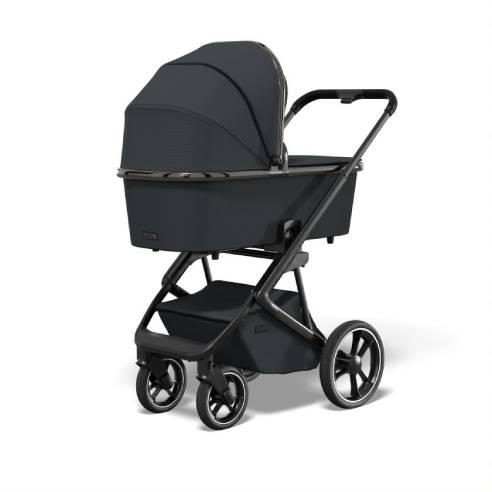 Otroški voziček Moon Style Black chrome 03