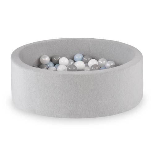 Suhi bazen za dojenčka.jpg modre kroglice