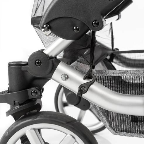 Komarnik in senčnik za voziček 06