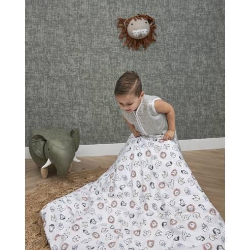 Otroška postelnina 100x135cm Meyco Živalice 01
