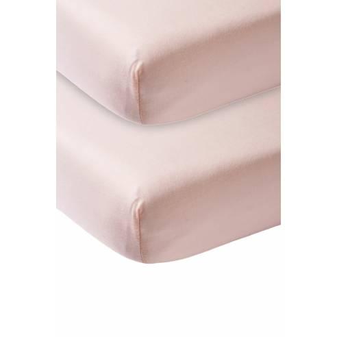 Otroška rjuga 120x60cm Meyco svetlo roza 01