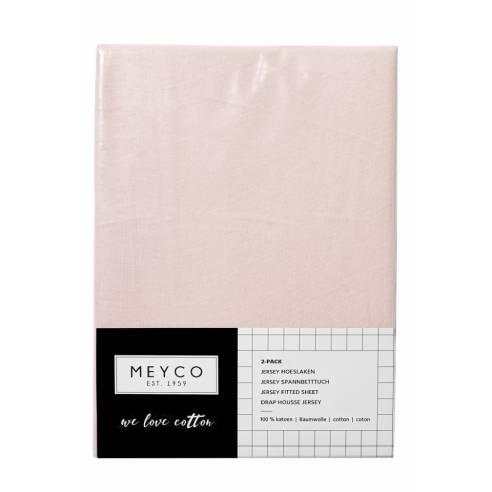Otroška rjuga 120x60cm Meyco svetlo roza 03