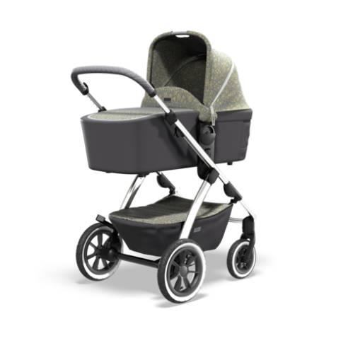 Otroški voziček Monn Relaxx Ice Flower Edition 01