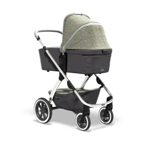 Otroški voziček Monn Relaxx Ice Flower Edition 03