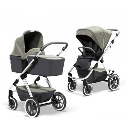 Otroški voziček Monn Relaxx Ice Flower Edition 16
