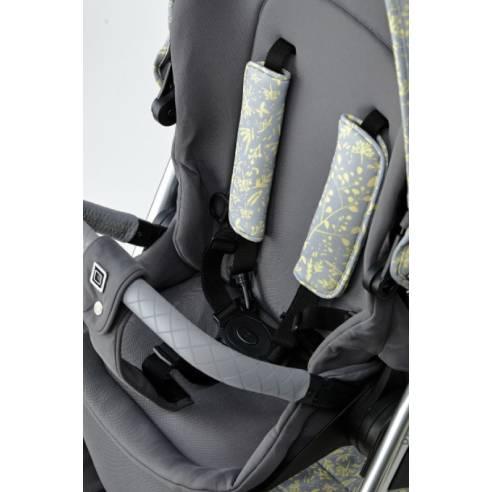 Otroški voziček Monn Relaxx Ice Flower Edition 17