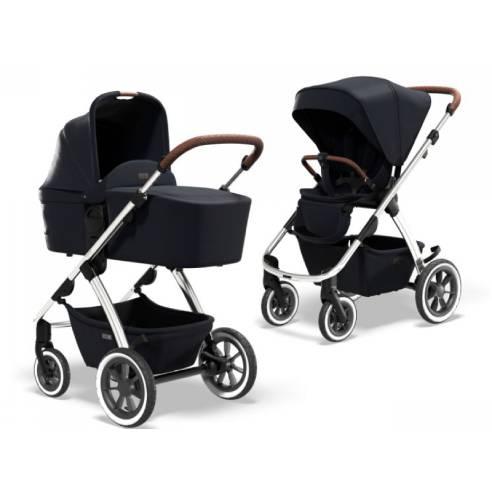 Otroški voziček Moon Edition Navy 17