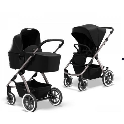 Otroški voziček Moon Relaxx Basic black 08
