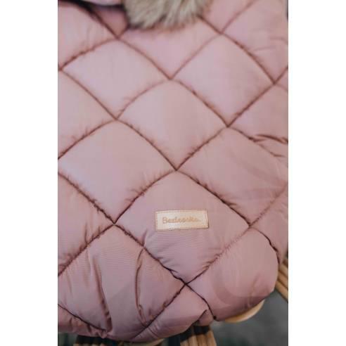 Zimska vreča za dojenčka Pink, roza 02