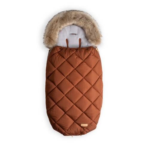 Zimska vreča za dojenčka cimet 01