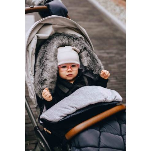 Zimska vreča za dojenčka črna 02