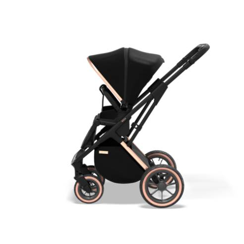 otroški voziček Moon Rocca Edition Črna 10