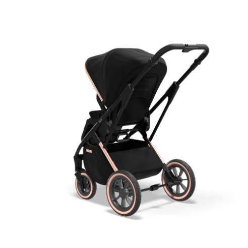 otroški voziček Moon Rocca Edition Črna 11
