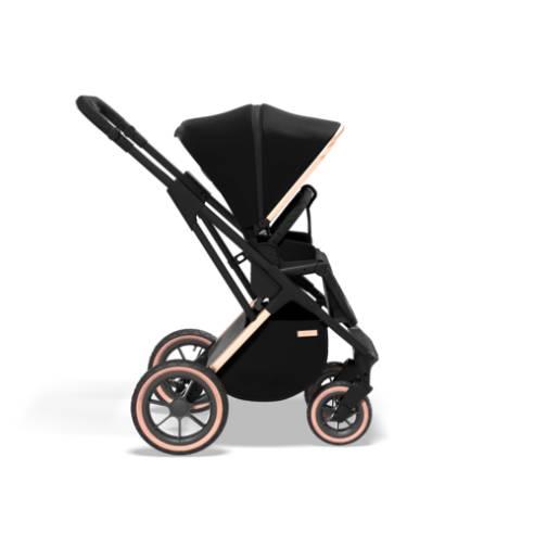 otroški voziček Moon Rocca Edition Črna 14