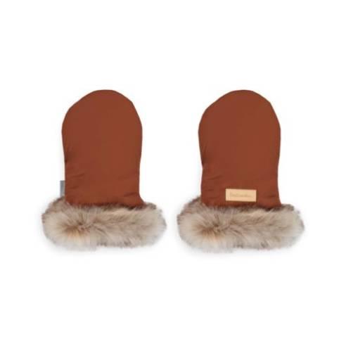 zimske rokavice za otroški voziček cimet 01