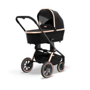 Otroški voziček Moon Resea S eDition Rose Gold Black 01