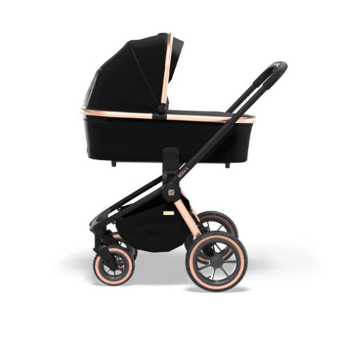 Otroški voziček Moon Resea S eDition Rose Gold Black 04