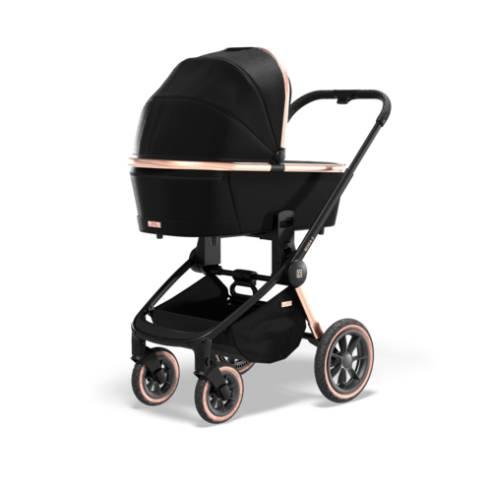 Otroški voziček Moon Resea S eDition Rose Gold Black 05
