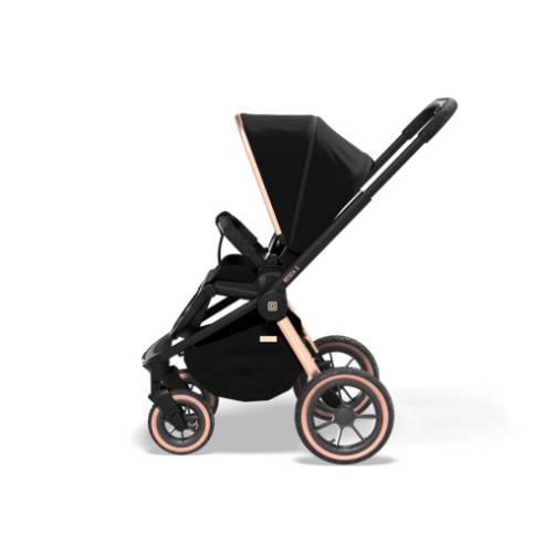 Otroški voziček Moon Resea S eDition Rose Gold Black 08