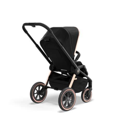 Otroški voziček Moon Resea S eDition Rose Gold Black 11