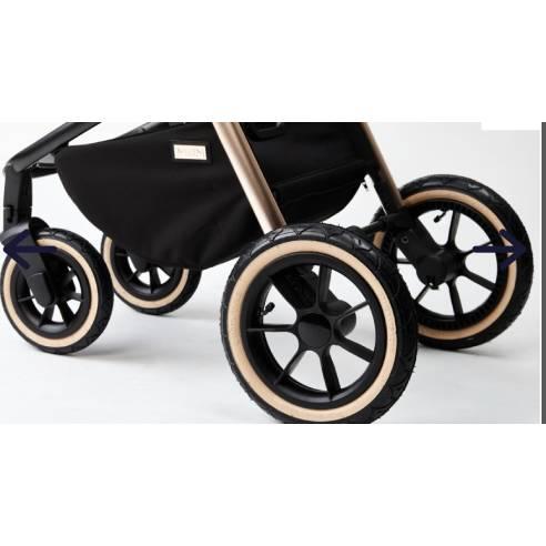 Otroški voziček Moon Resea S eDition Rose Gold Black 14
