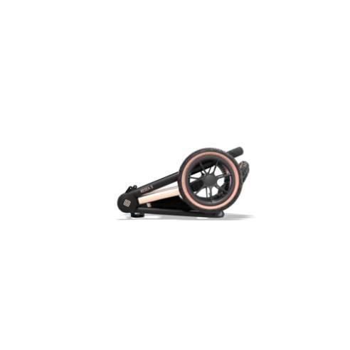 Otroški voziček Moon Resea S eDition Rose Gold Black 20